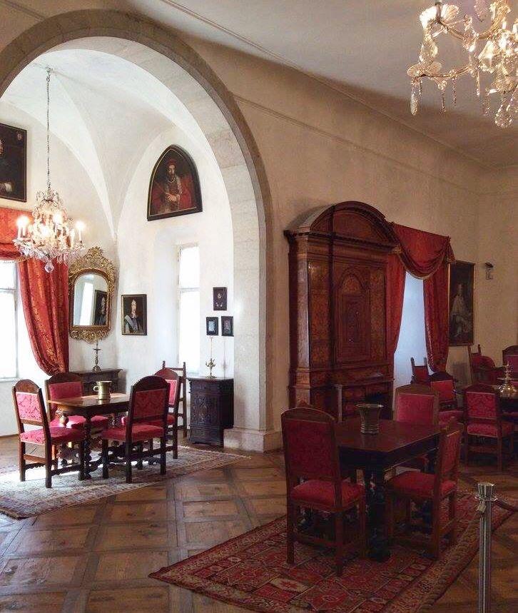 castel Thun - interni- i love val di non