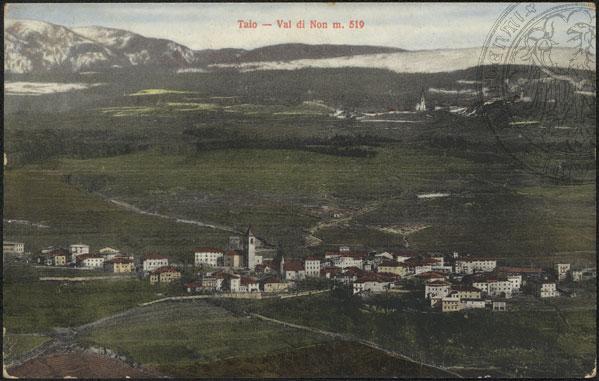 vecchie cartoline - Taio - Val di Non m. 519 - 1914