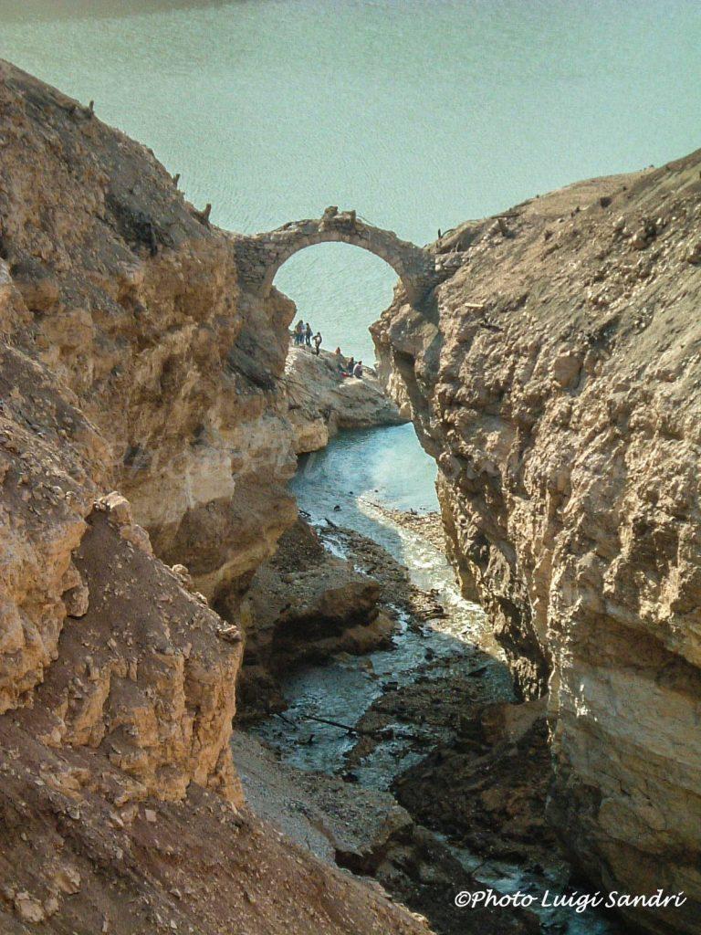 ponte della mula-ponti sommersi lago di santa giustina