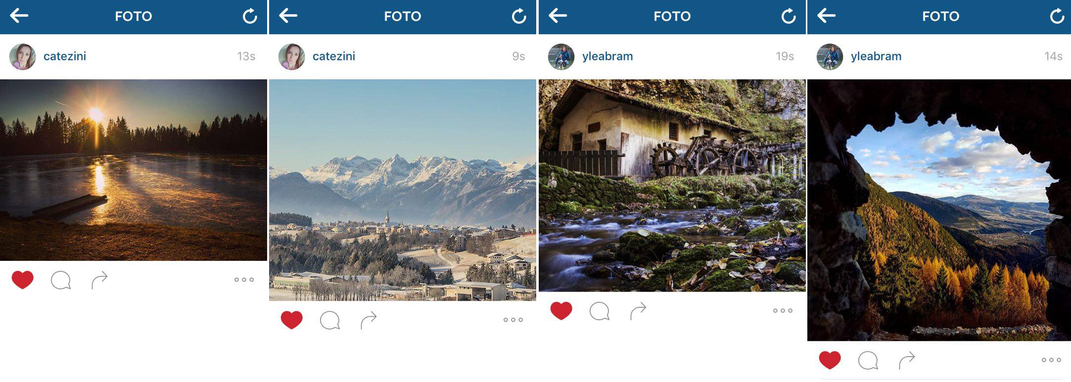 INSTAGRAMMERS catezini yleabram