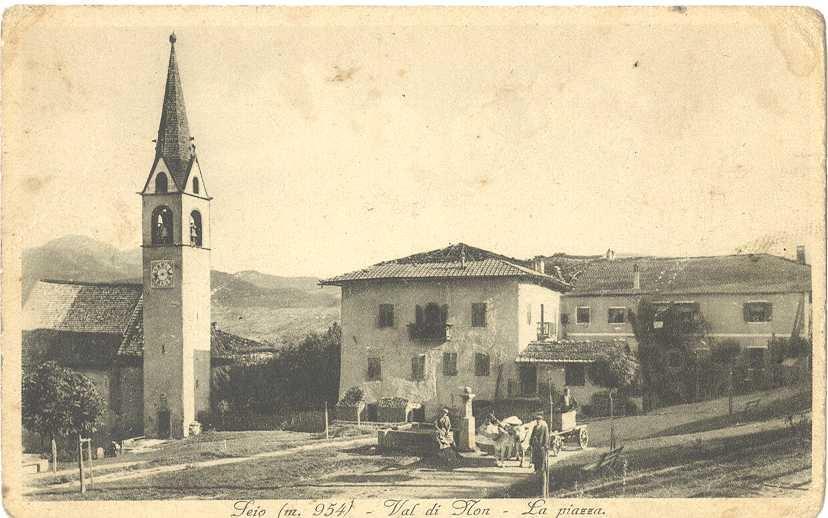 vecchie cartoline Alta Val di Non - Seio credit Fabio Bartolini