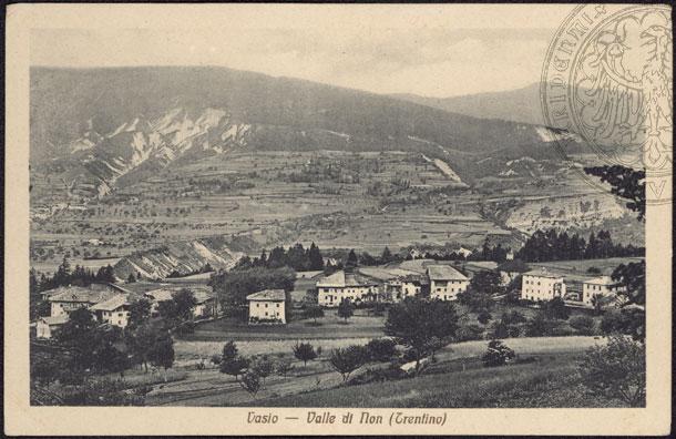 vecchie cartoline Alta Val di Non - Vasio 1920-1930