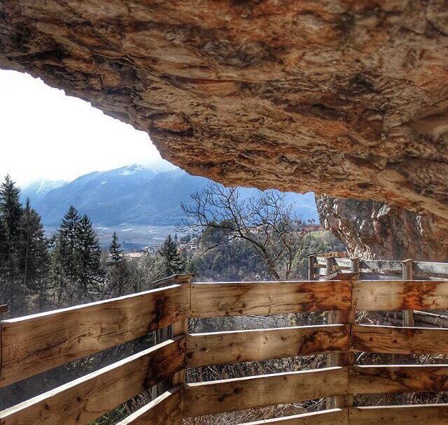 come arrivare a san romedio- sentiero nella roccia-patrizia atzei-i love val di non