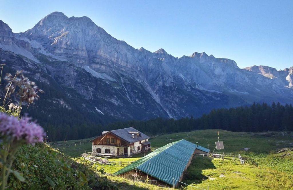 itinerari valle di Tovel-malga flavona