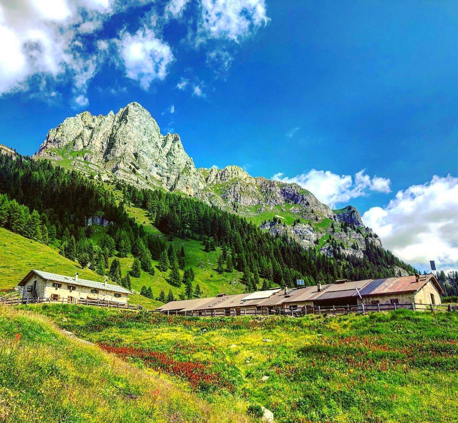 itinerari in val di tovel-malga-tuena