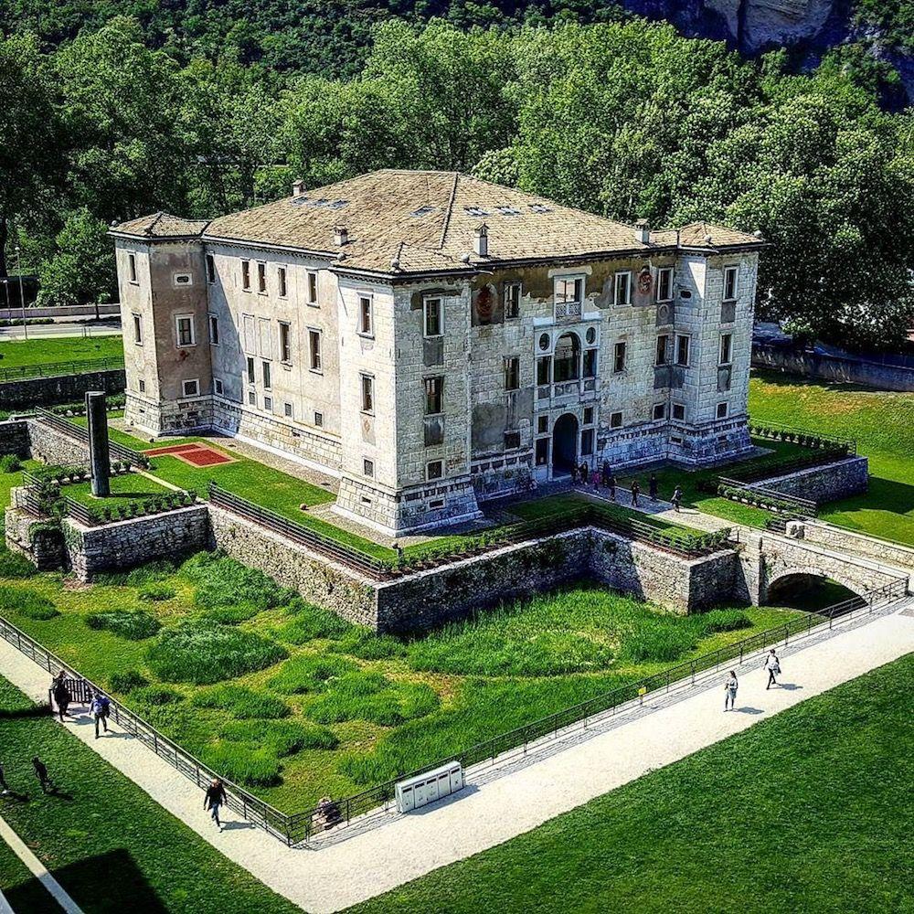 vacanza in Val di Non- palazzo delle Albere Trento