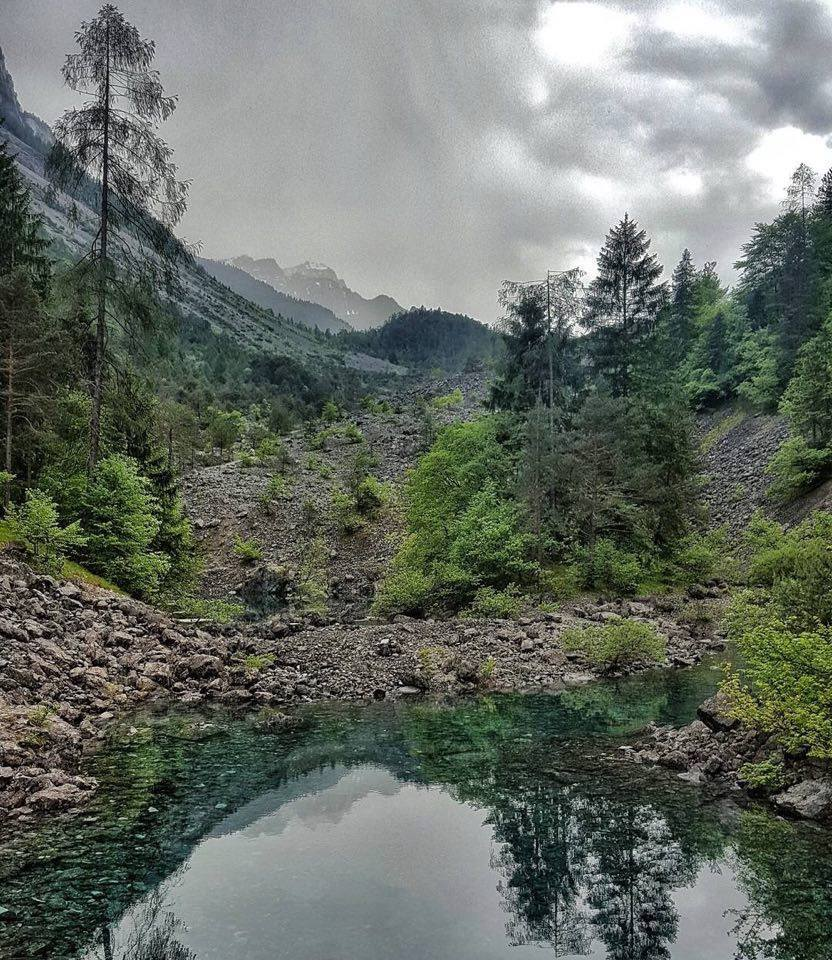 itinerari valle di Tovel-sentiero delle glare-laghetti effimeri