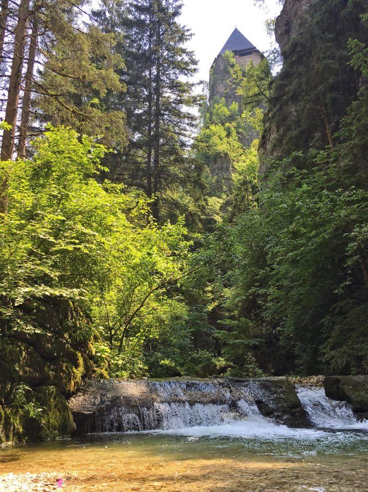 itinerari-a piedi a san romedio-canyon-val di non