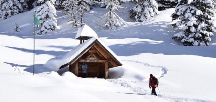 montagna in inverno-trentino