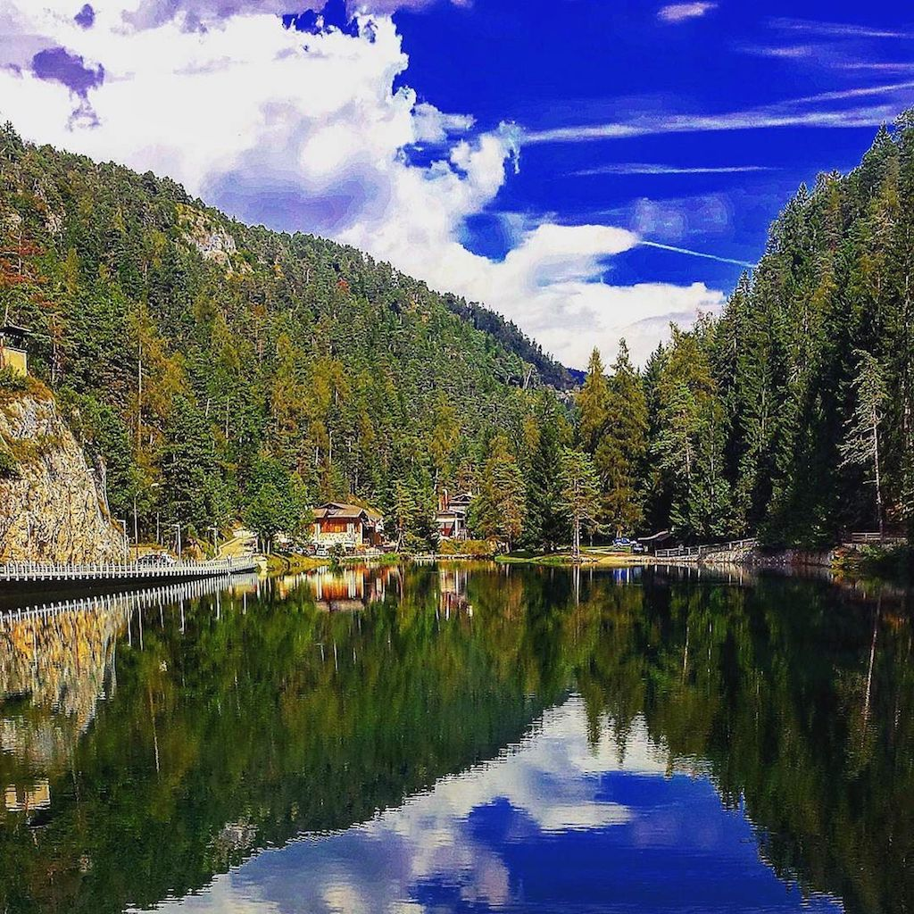 instagram-lago smeraldo-Ilaria Roveri Posti in Val di Non