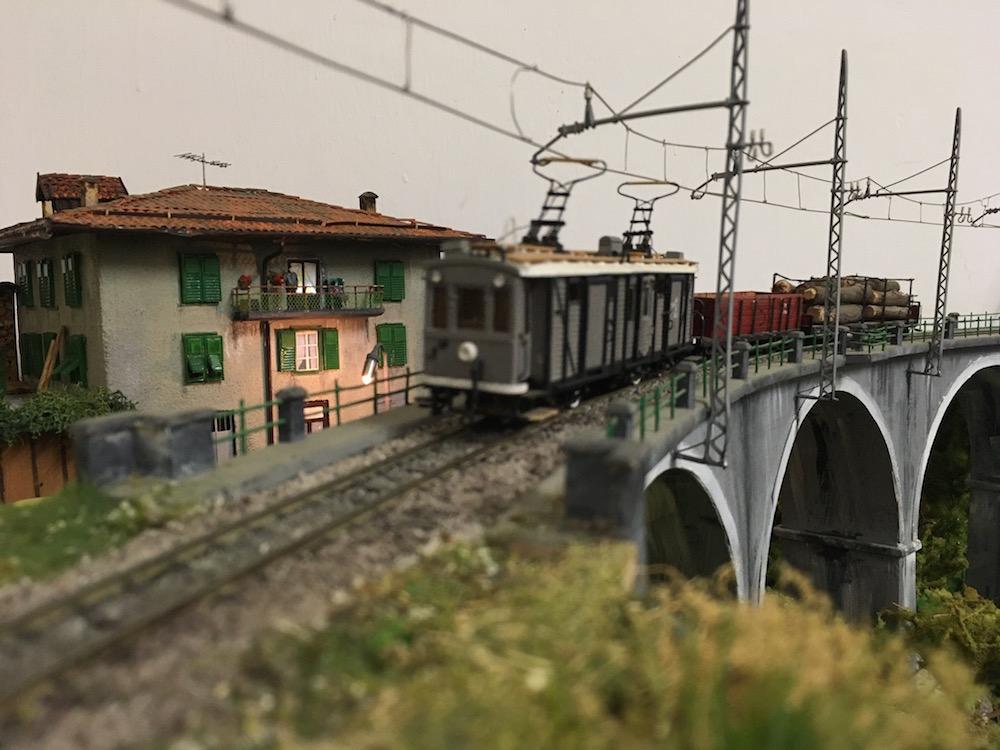 Trento Malè I love val di Non Modellismo 3