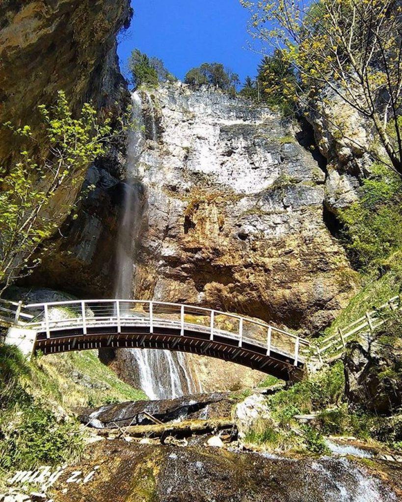 cascata di tret-ponte-da sotto