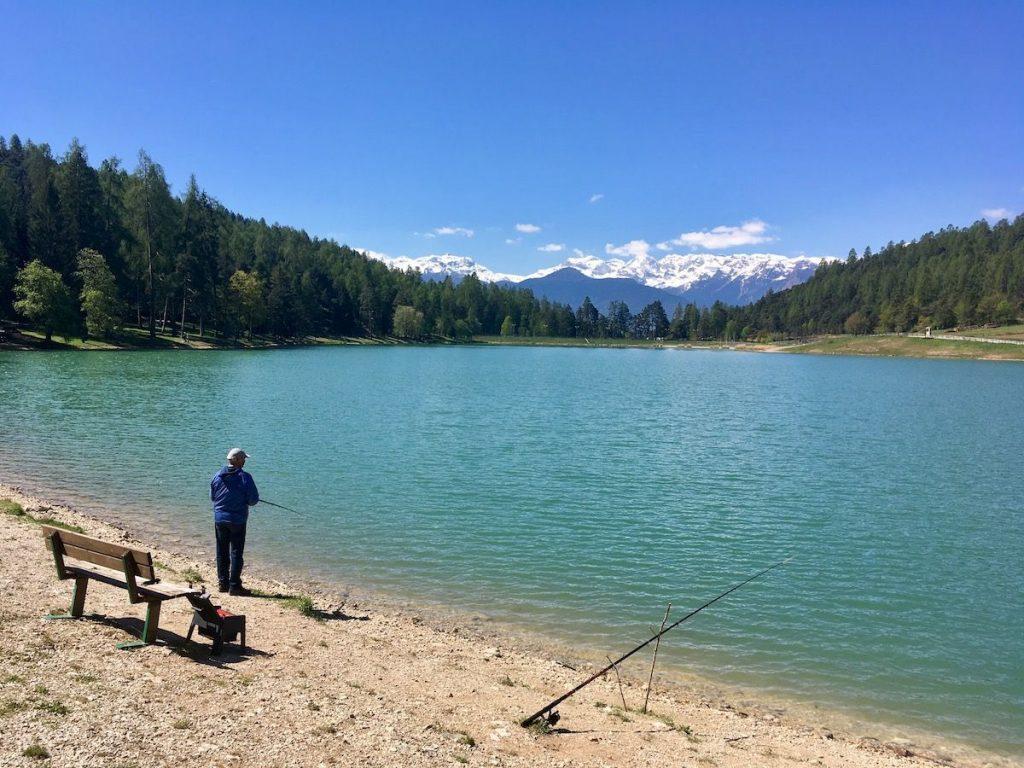 laghi di coredo e tavon-pescatore-i love val di non_5