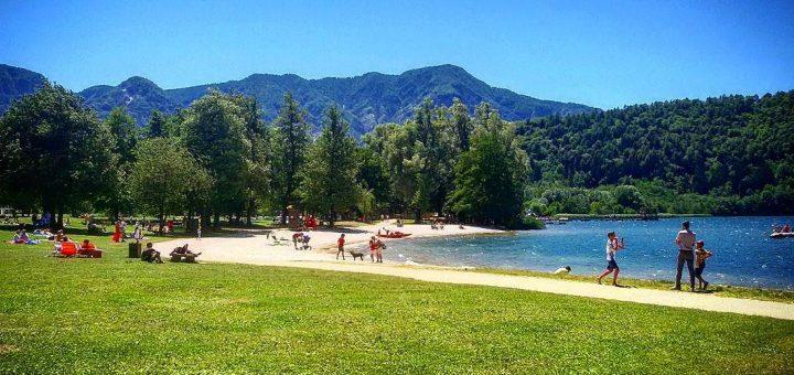 spiagge bandiera blu in trentino-lago di levico-stefano stocchero-i love val di non
