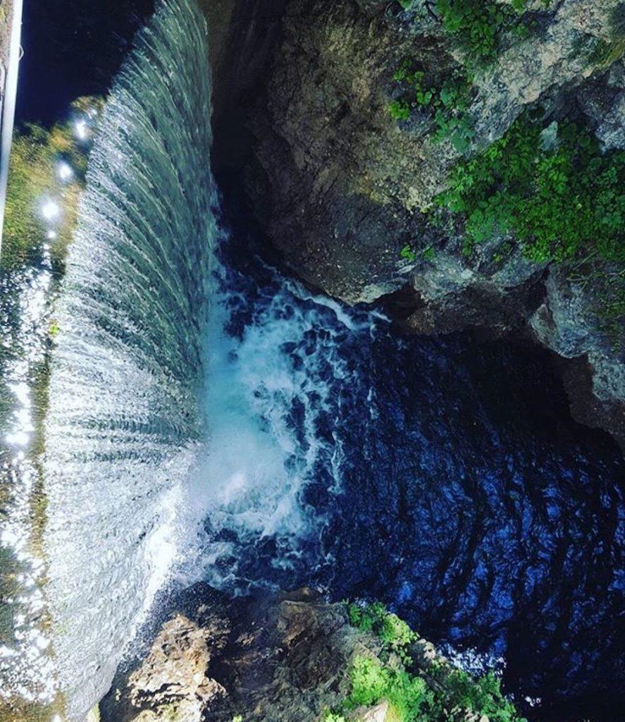 cascata lago smeraldo-val di non