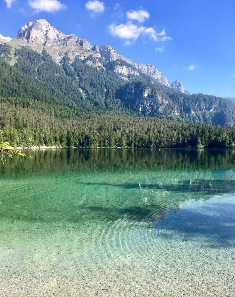 giro del lago di tovel