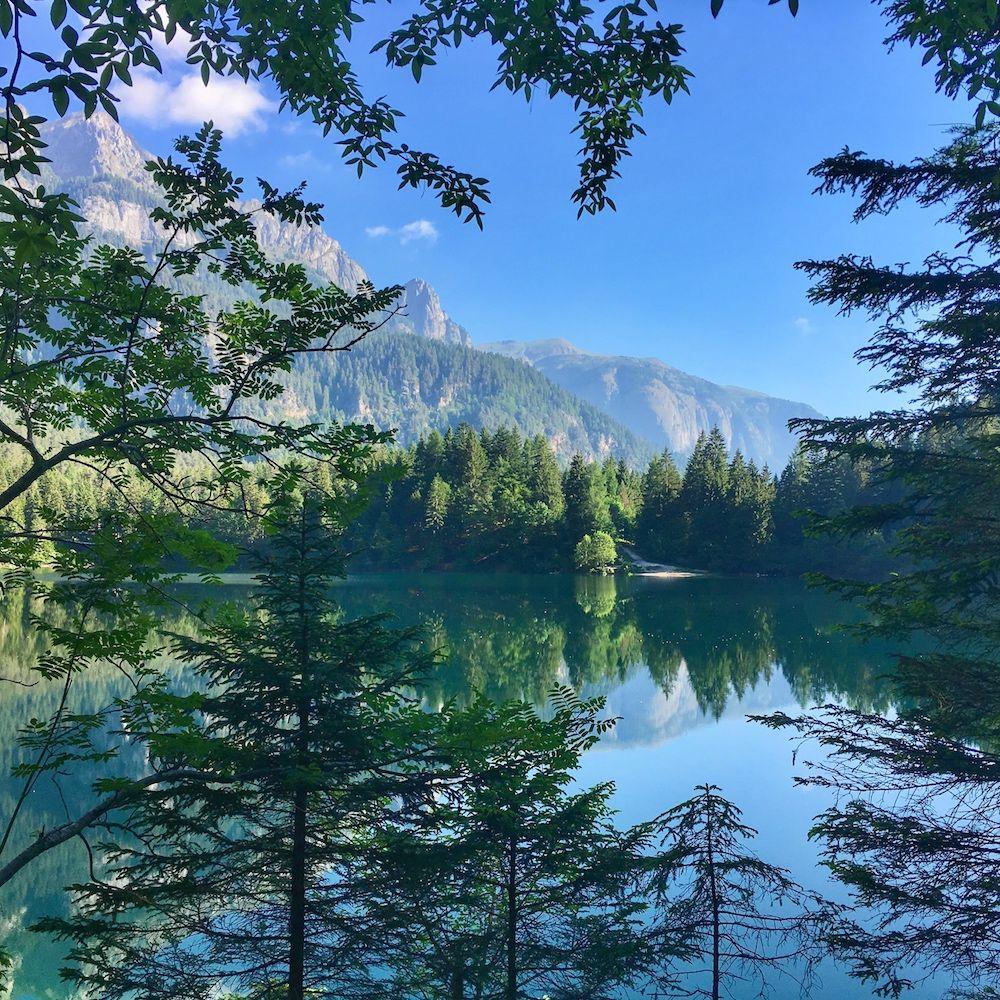 giro del lago di tovel-natura