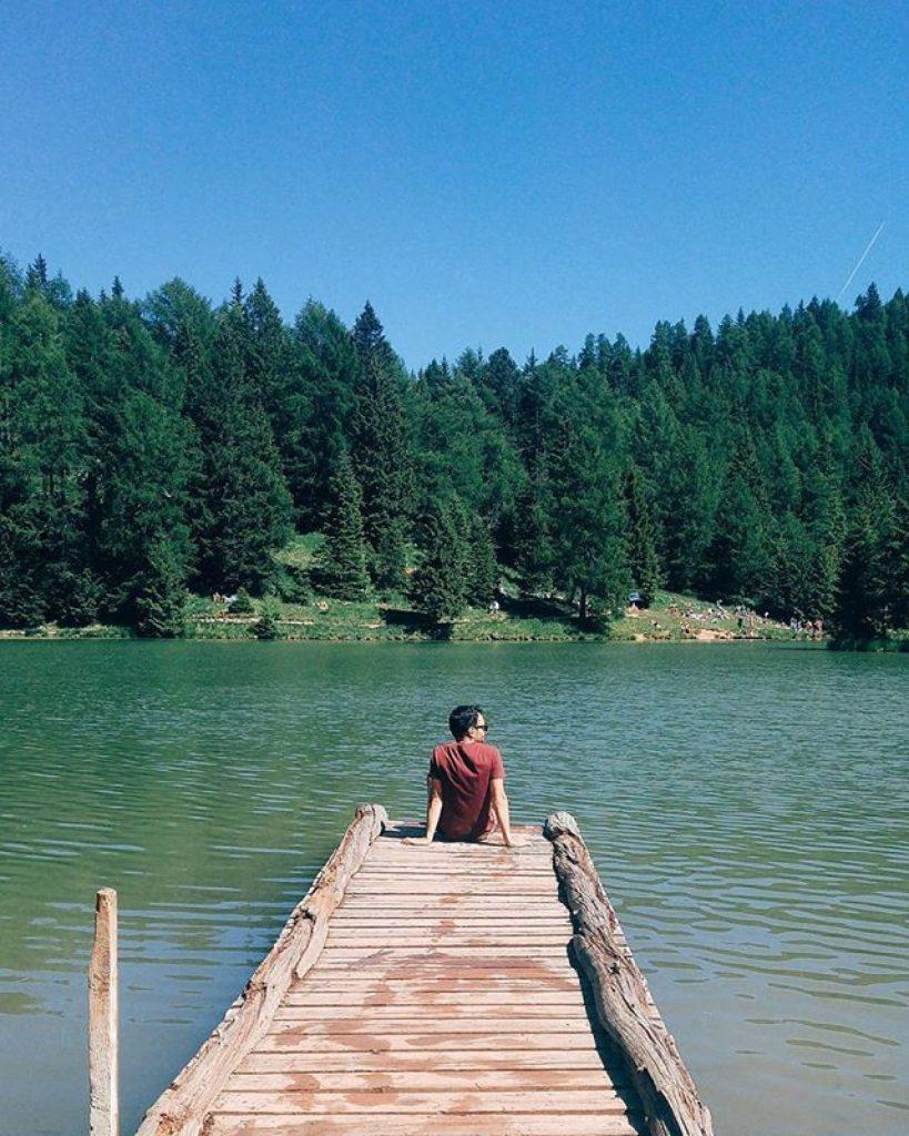 lago-di-tret-manny-i love val di non-trekking in estate