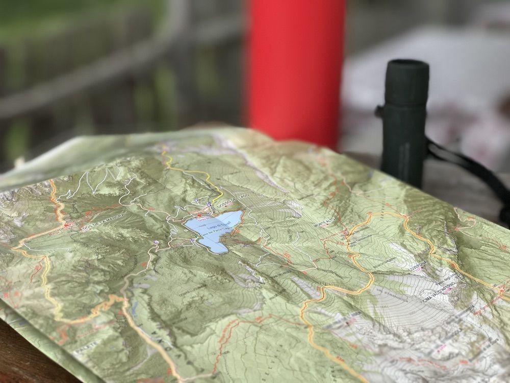 cartina-cosa portare in montagna