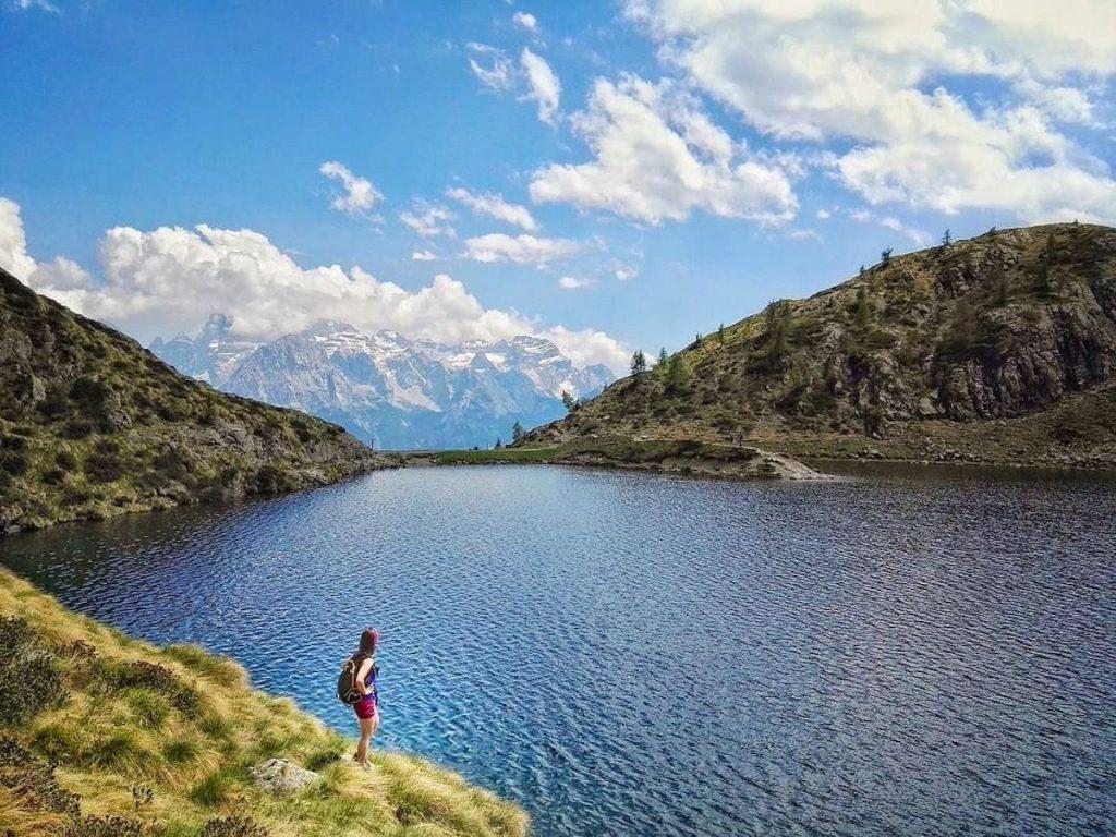 laghi di montagna-lago ritorto