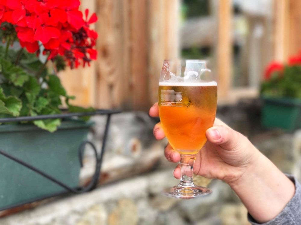 birra in malga