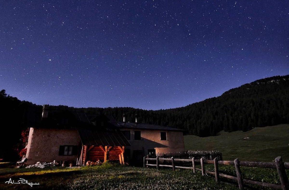 guardare le stelle in Val di Non