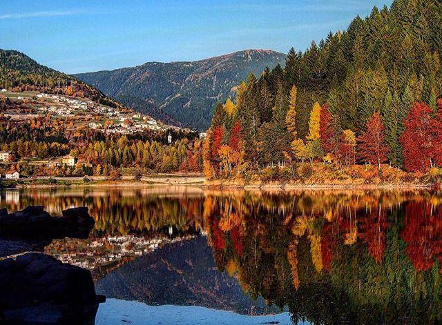 foliage lago delle piazze