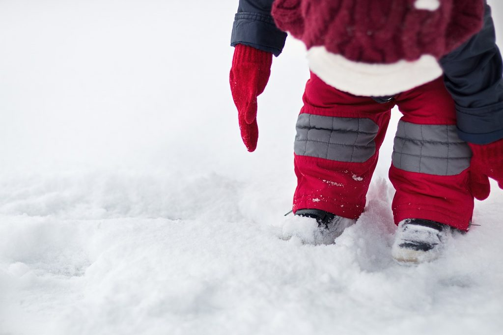 prima neve bambini