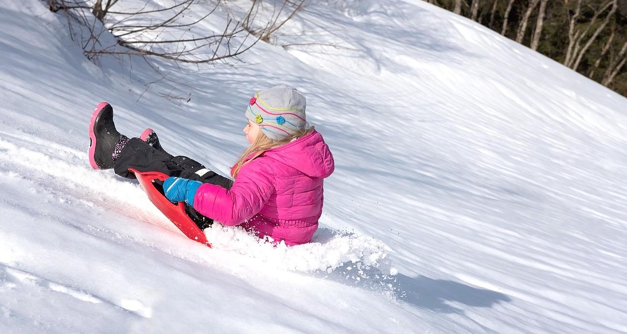 bambini quando nevica