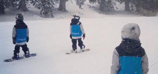 imparare a sciare da bambini