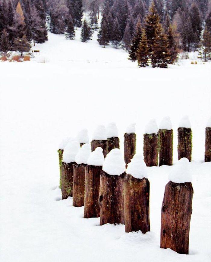 lago di tret-inverno in Val di Non