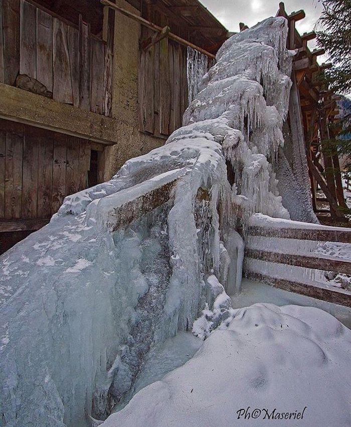 segheria di bresimo-inverno in val di non