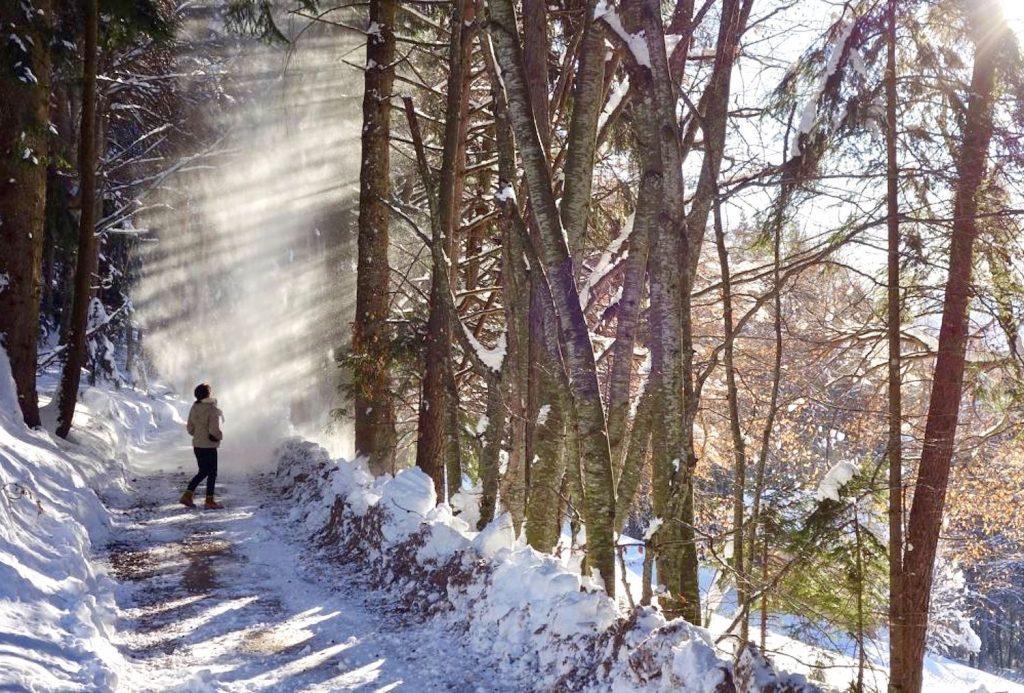 camminare in inverno-consigli