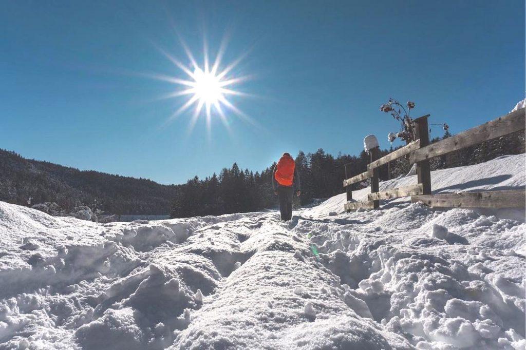 camminare nella neve-consigli