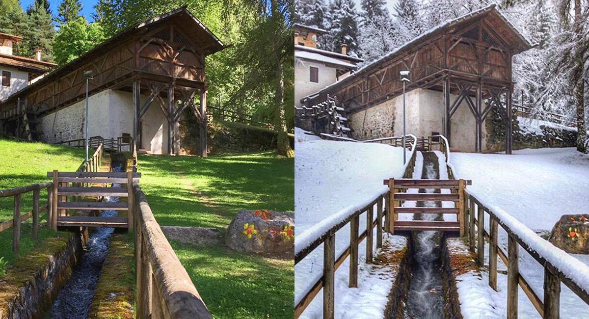 confronto estate inverno-posti in val di non