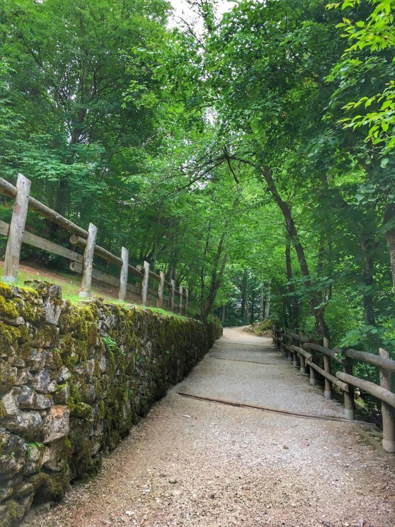 itinerari-a piedi a san romedio-val di non