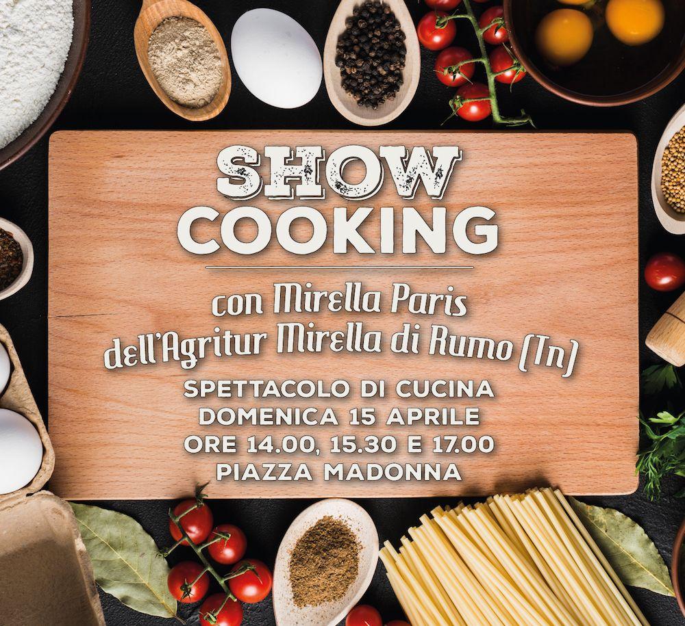 passeggiata gastronomica-show cooking Mirella Paris