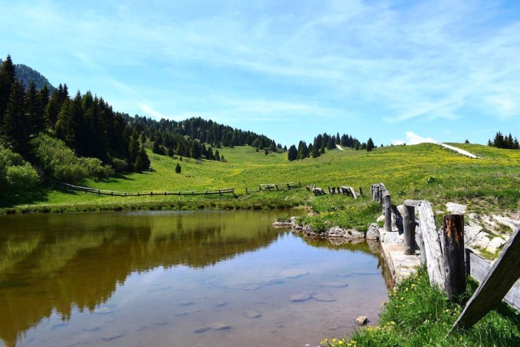 giro del monte peller-lago dorigat