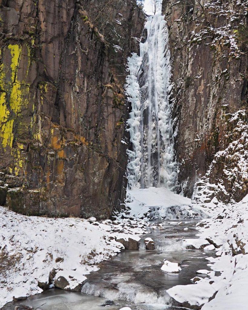 cascata del lupo-cascate in trentino