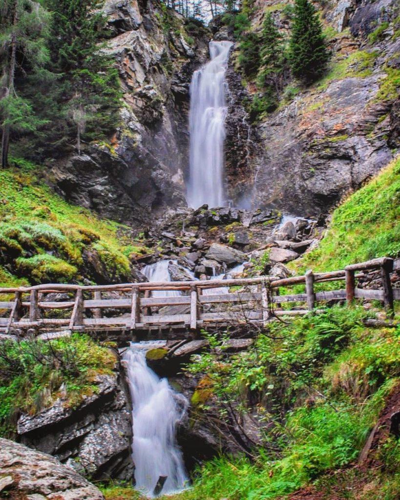 cascate in trentino-cascate di saent