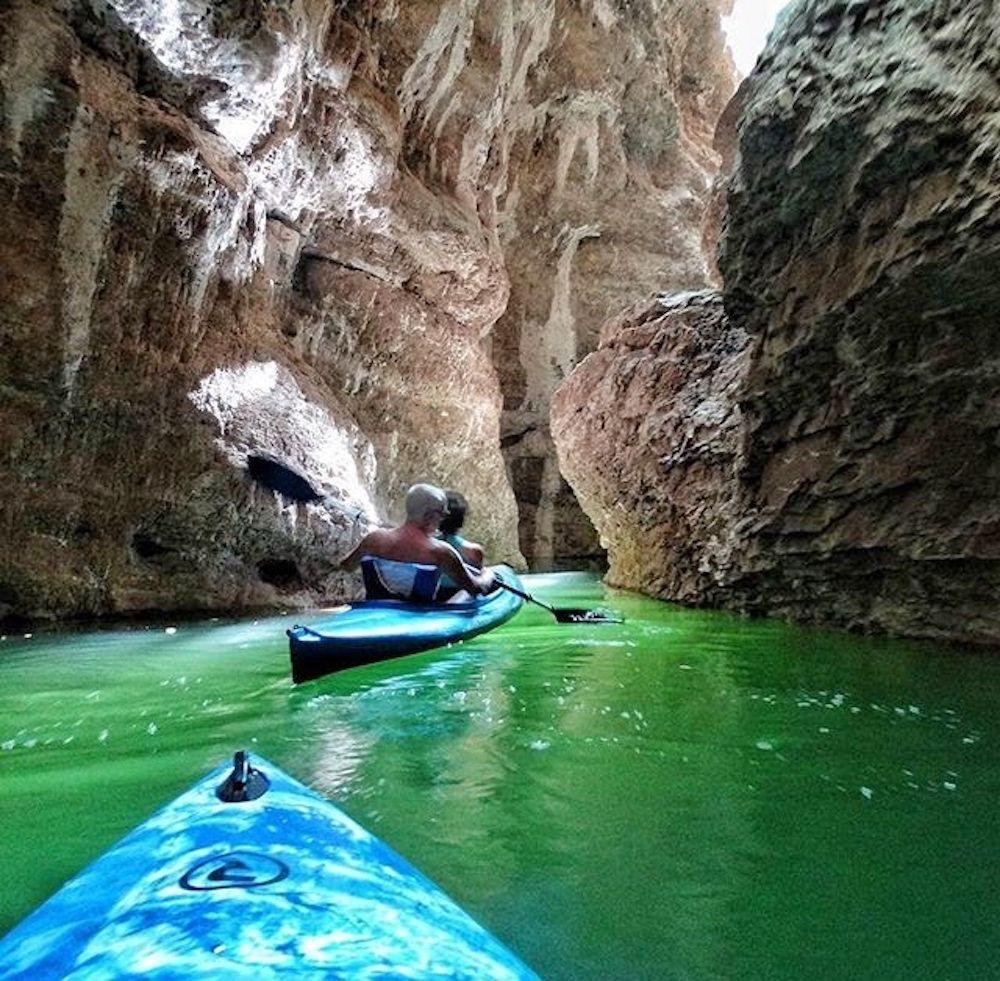 canoa lago di santa giustina