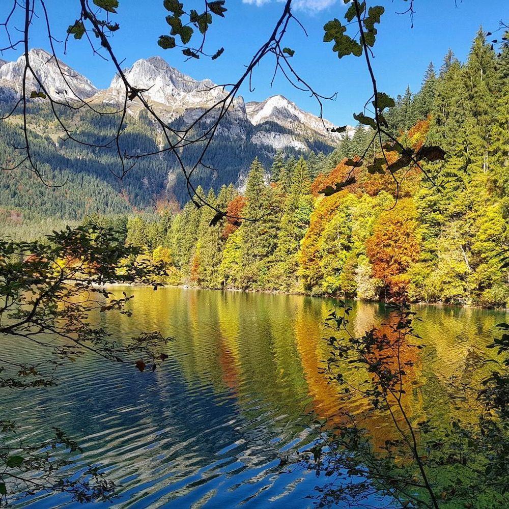 lago di tovel-autunno