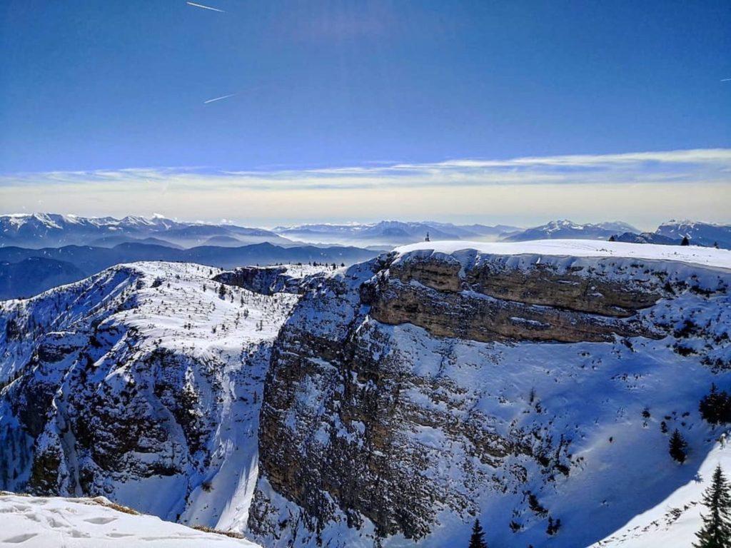 come arrivare sul monte-roen-inverno