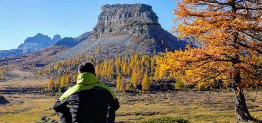 escursioni in val di non in autunno-turrion basso-campo flavona