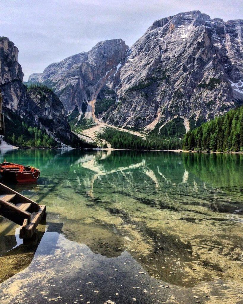 lago di braies-croda del becco