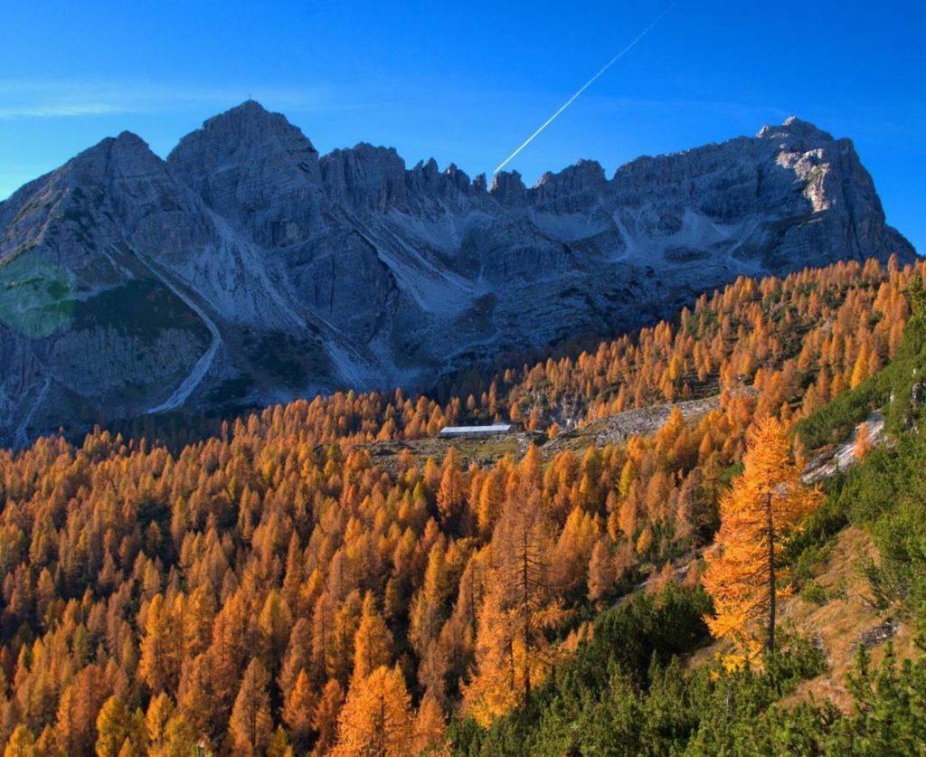 escursioni in val di non in autunno-malga campa