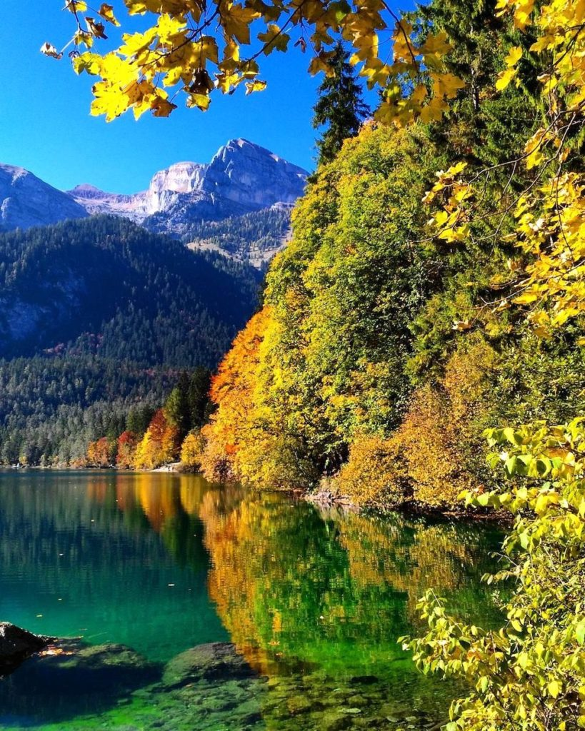 passeggiate autunno-lago di tovel