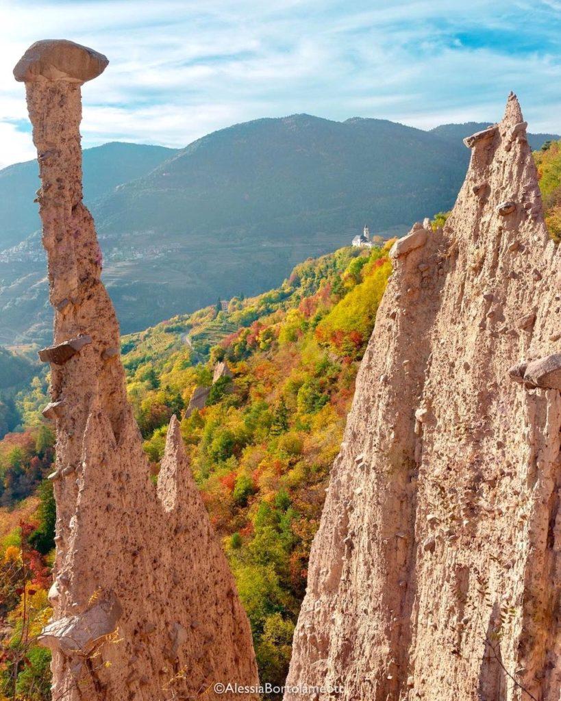 valli del trentino in autunno-val di cembra
