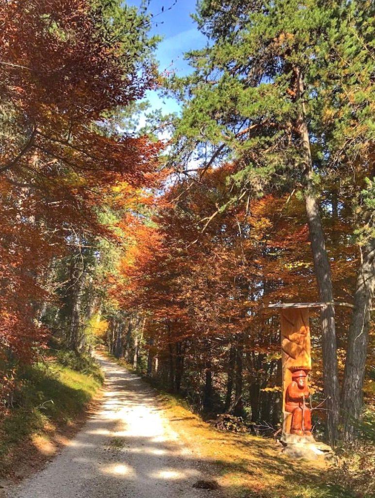 passeggiate autunno val di non-sentiero delle fate preghena