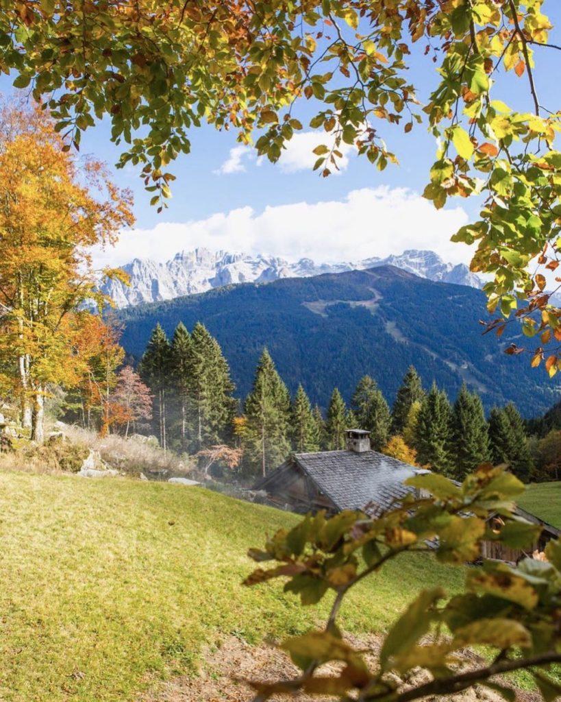 valli del trentino in autunno-val nambrone